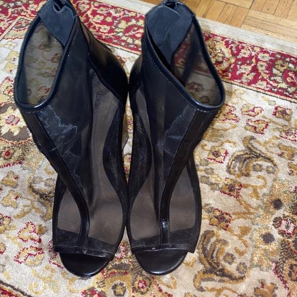Black Sandal boot